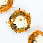 Sportsnack: pasta muffins