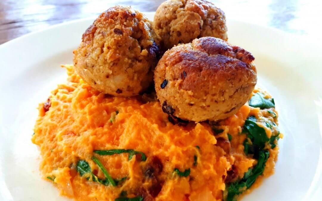 Vegan gehaktballen