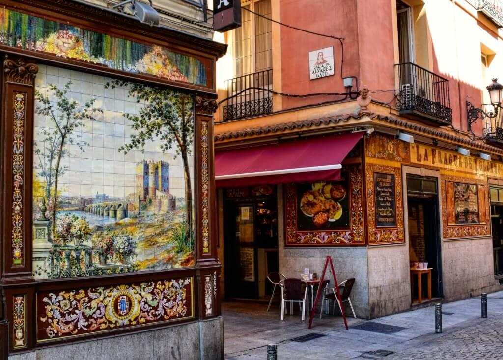 Vega hotspots in Madrid