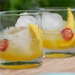Shrub met tequila, mangoazijn en jalapenopeper
