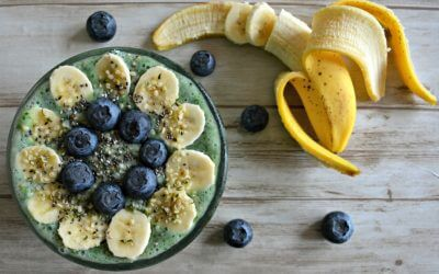 Smoothie bowl: Spinazie en spirulina