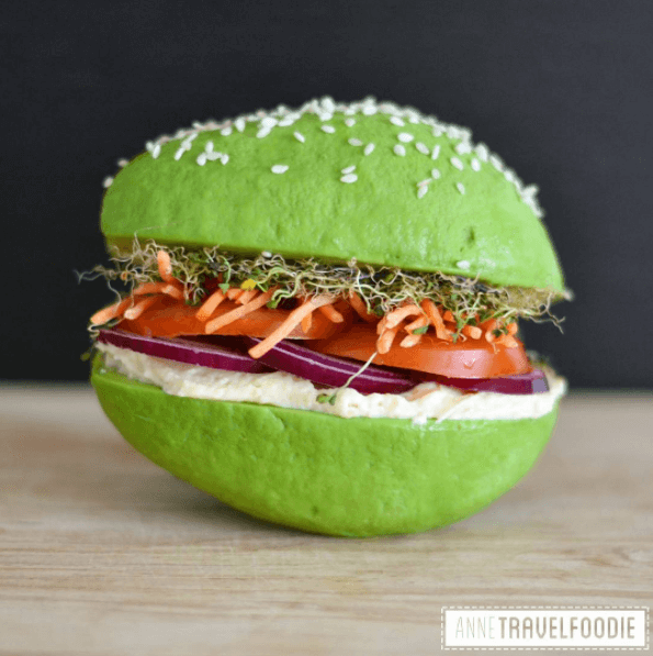 TRENDING: Avocado bun burger