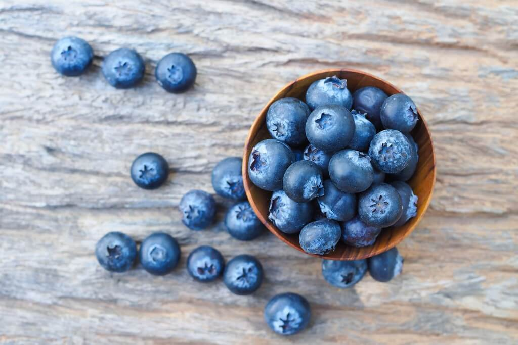 Blauwe bessen: super gezond