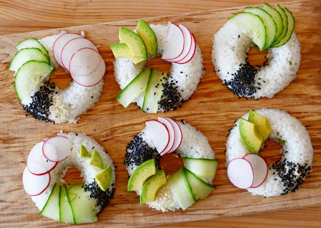 TRENDING: Sushi donuts