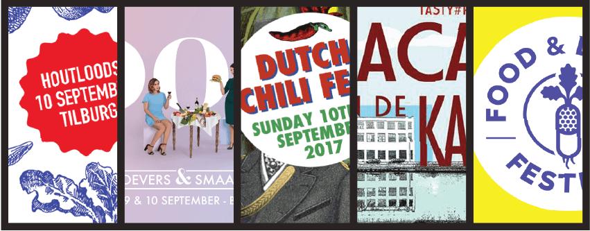 5 x September Food Festivals in Brabant