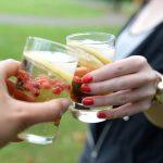 Shrub met gemberbier en granaatappelazijn (alcoholvrij)