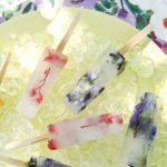 DIY: Waterijsjes met eetbare zomerbloemen