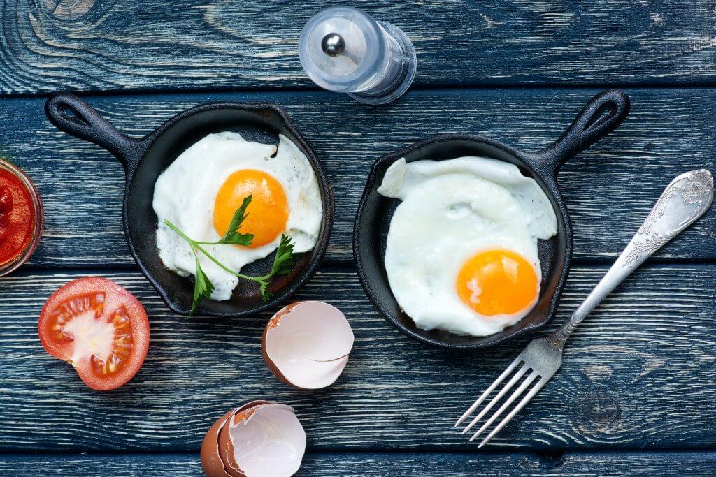 5 x lichte onttbijtjes met ei