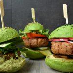 TRENDING: 3 x Avocado Burger Buns