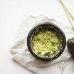Homemade groene currypasta