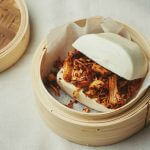 Leaf: Pulled jackfruit in steamed buns
