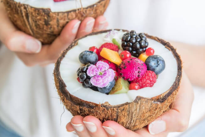 Instagram trend: Tropical Fruit Bowls