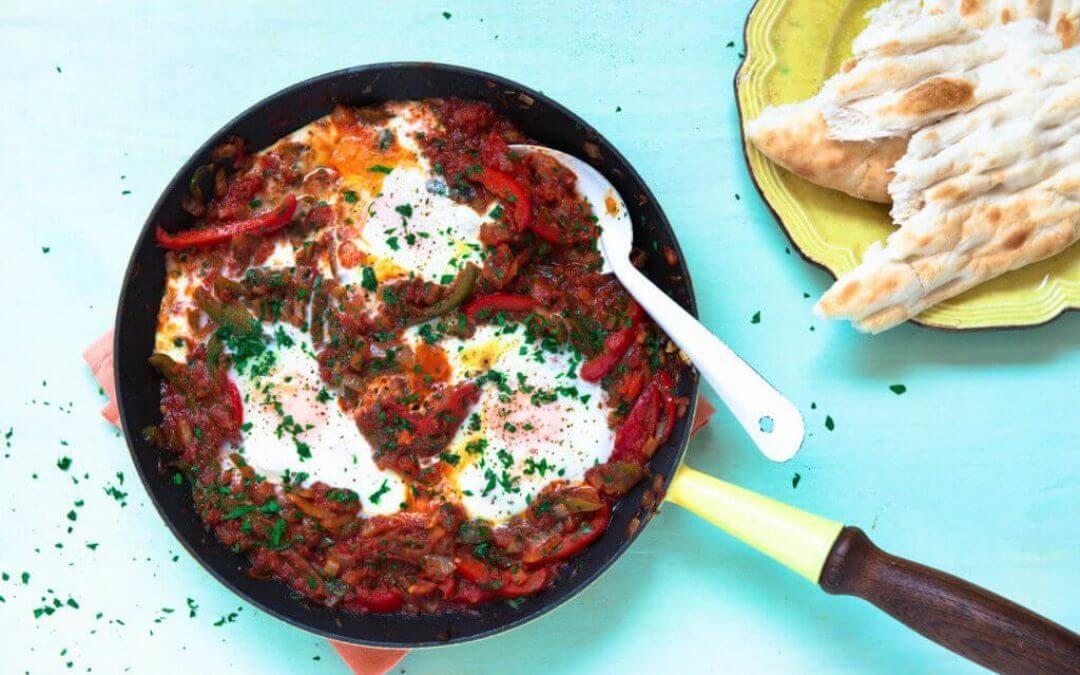 Top 5: recepten met paprika