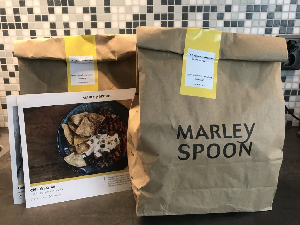Review: Marley Spoon maaltijdbox +  €25 korting