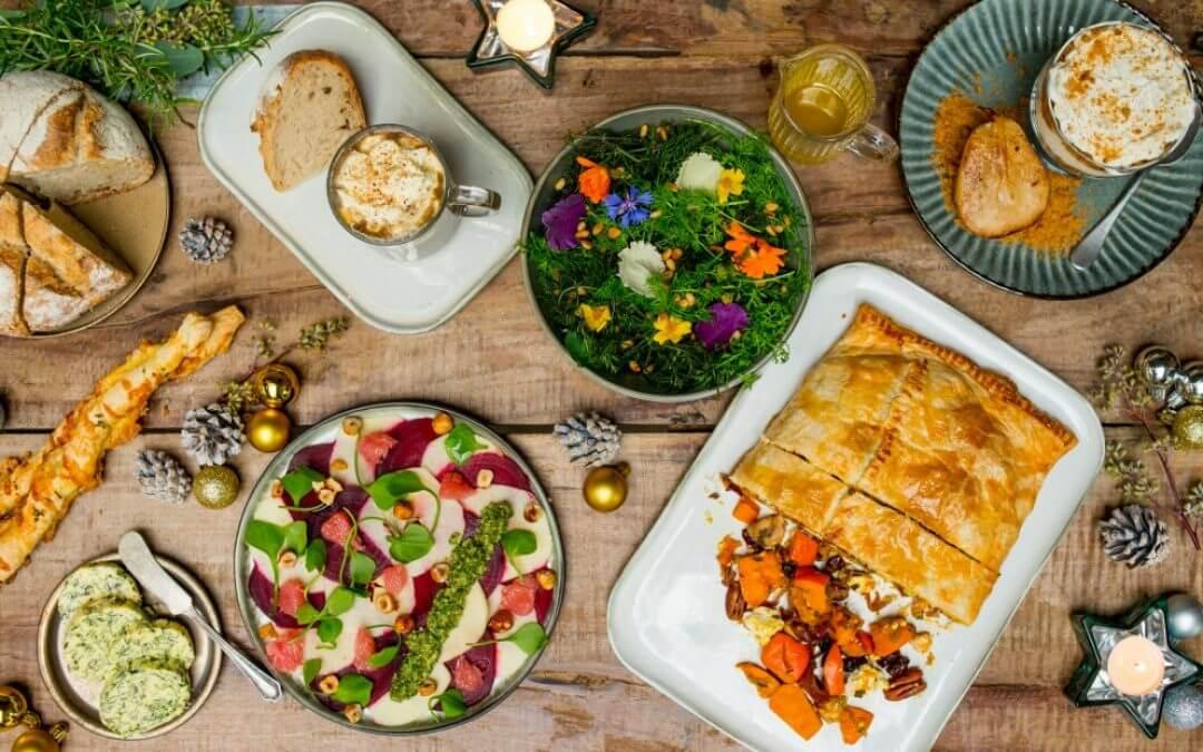 Vegetarische kerstbox: 4 gangen diner in één keer in huis + WIN