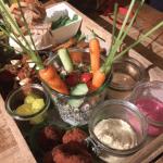 Vegetarisch borrelen bij Borrl Kitchen in Amsterdam
