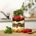 Couscoussalade met geroosterde bloemkool en tomaatjes