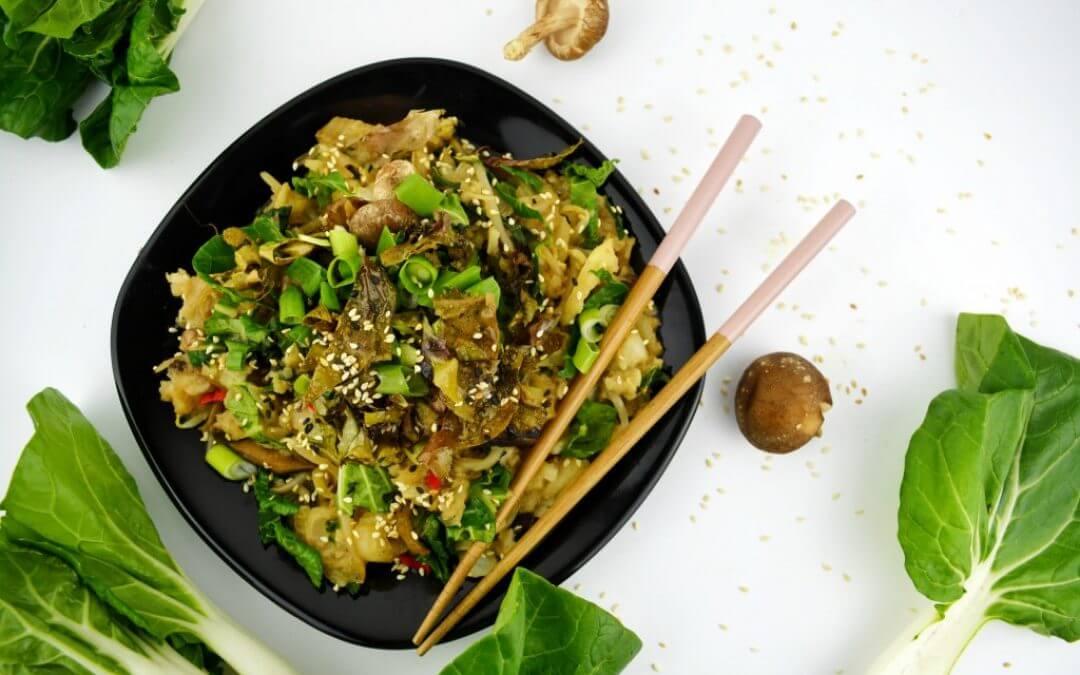 Vegan stamppot met Aziatische twist