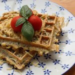 Vega borrel in 15 min: courgette wafels + WIN