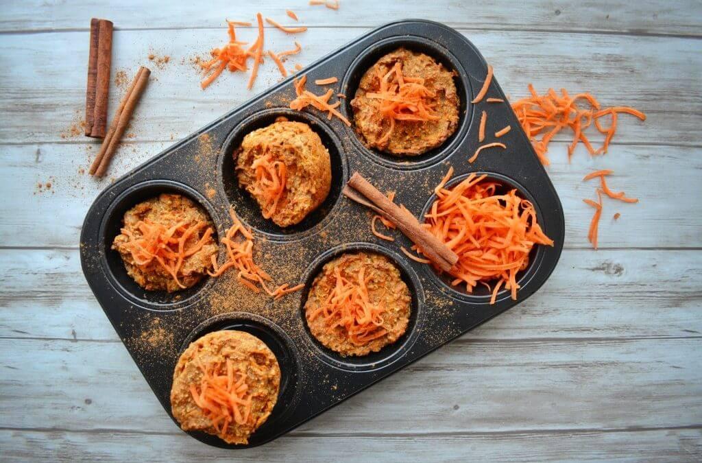 PASEN: vegan carrot cake cupcakes