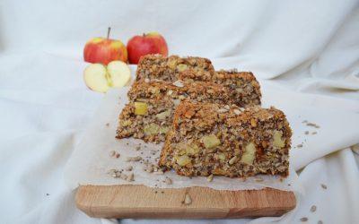 PASEN: vegan glutenvrij brood met kokos, appel en pitten