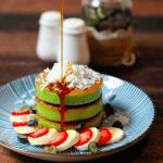 Instagram trend: Pandan pancakes