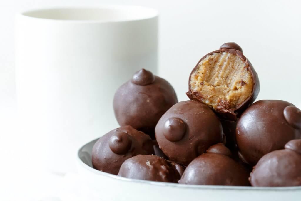 Puur Zoet: Vegan cookie dough truffels