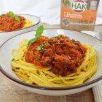 Samen eten: linzen bolognese voor vleeseters én vegetariërs
