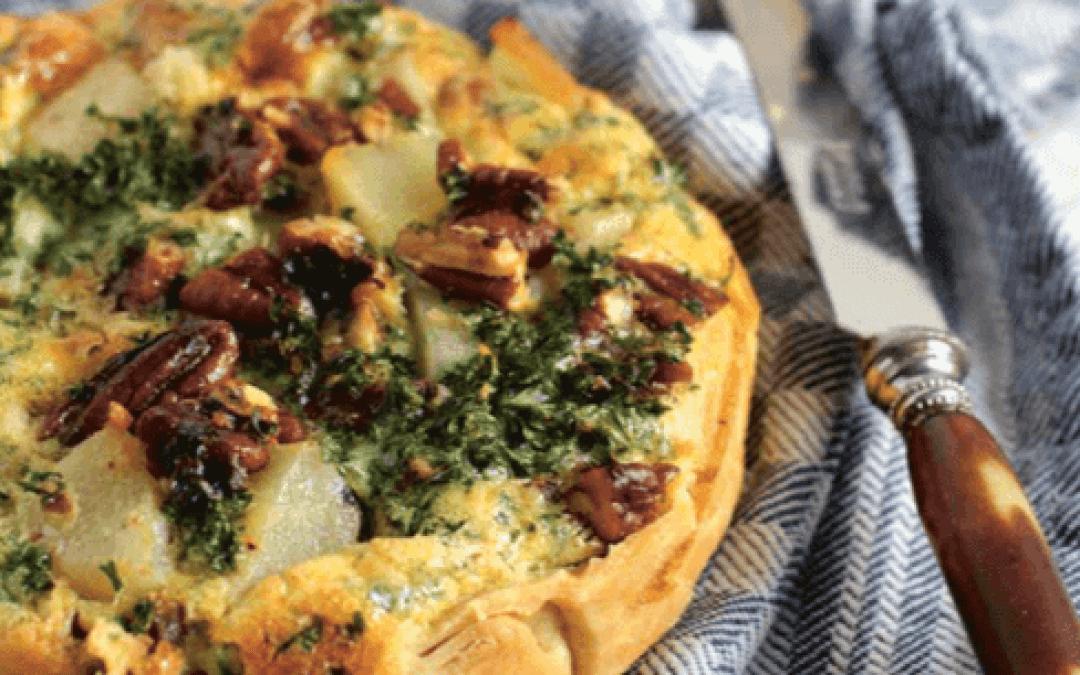 Greendelicious: quiches van schorseneren en peterselie