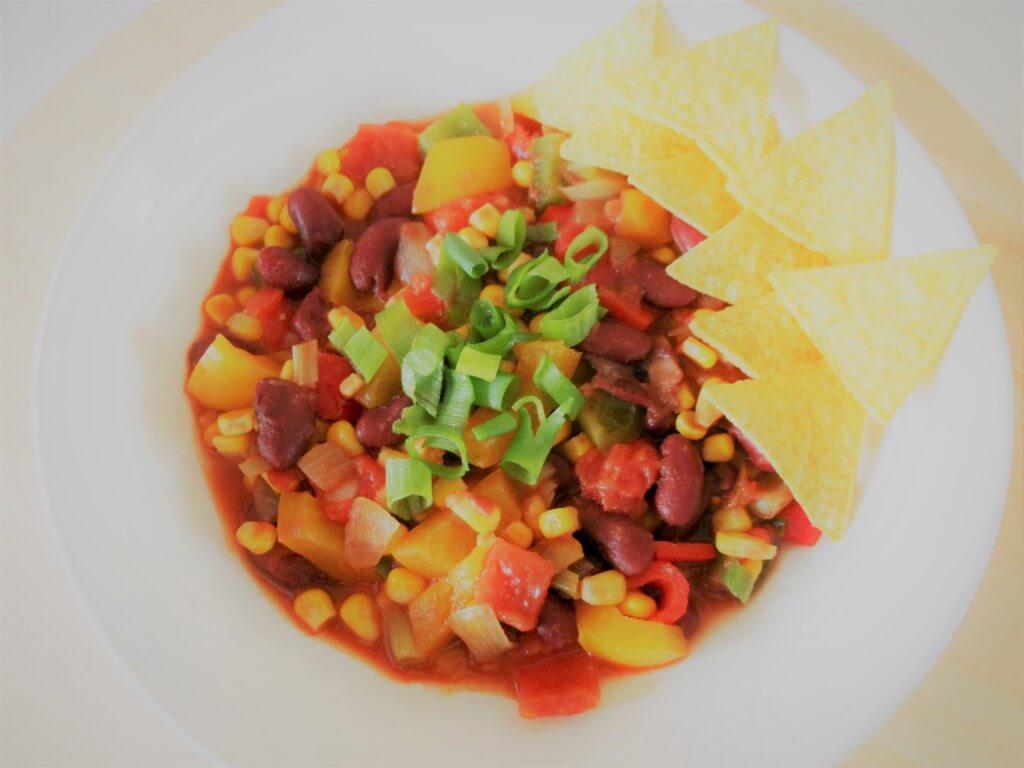 Vega vleesklassieker: chili sin carne