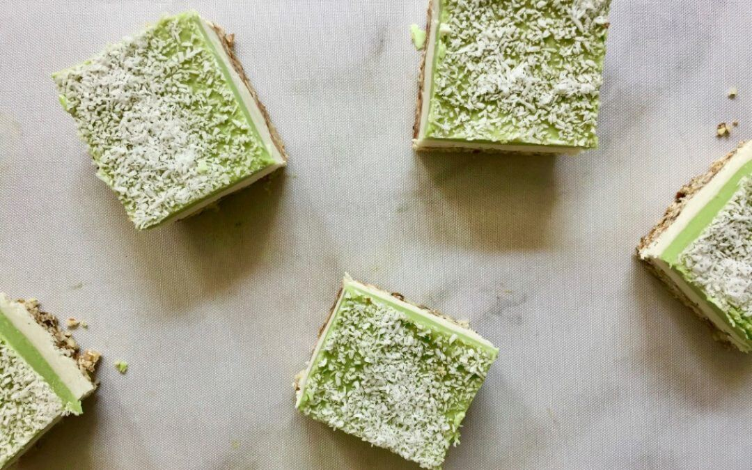 DIY TREND: avocado cheesecake bites