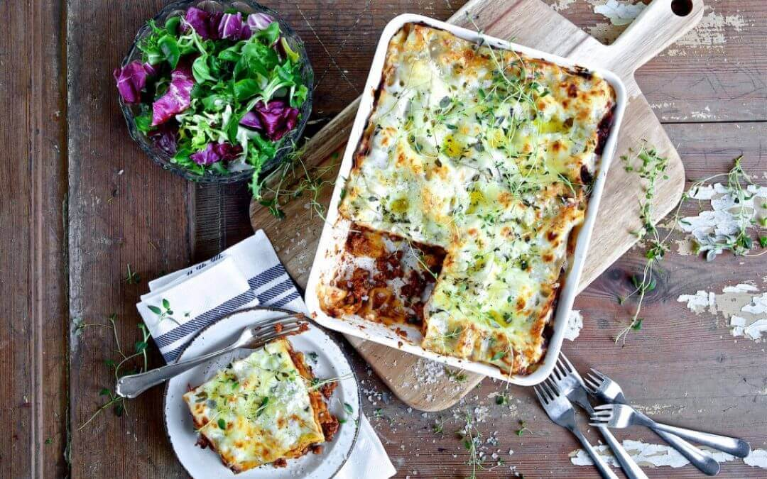Top 5: vegetarische lasagne