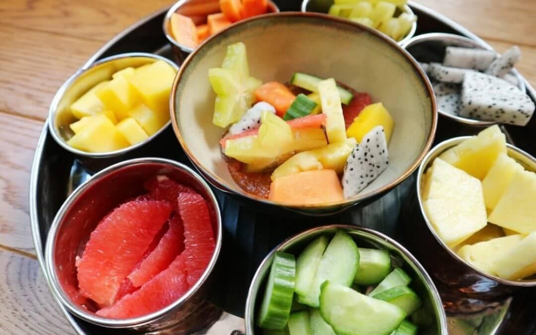 Indonesische keuken: pittige fruitsalade