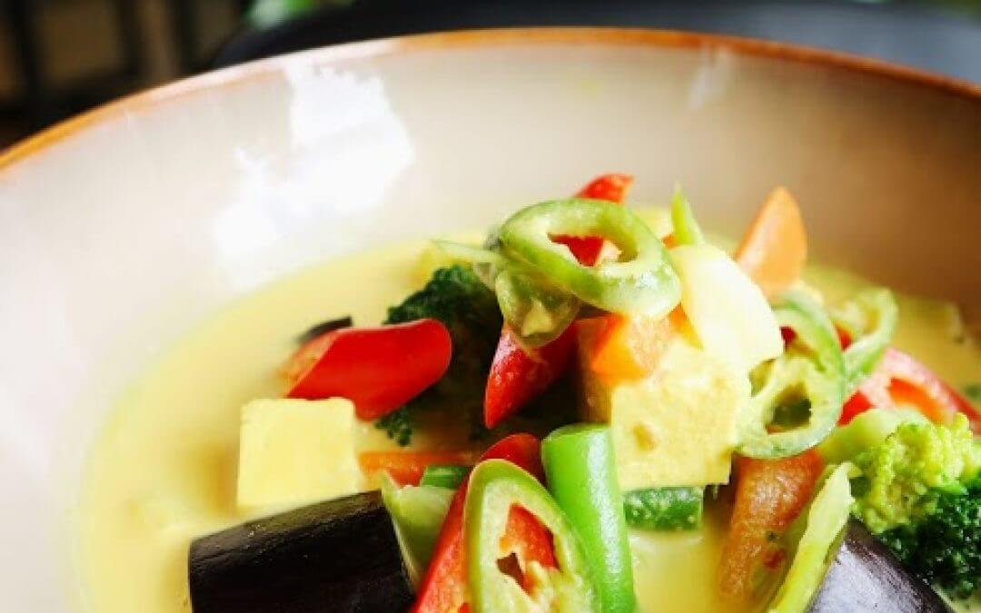 Indonesische keuken: sayur lodeh groentesoep