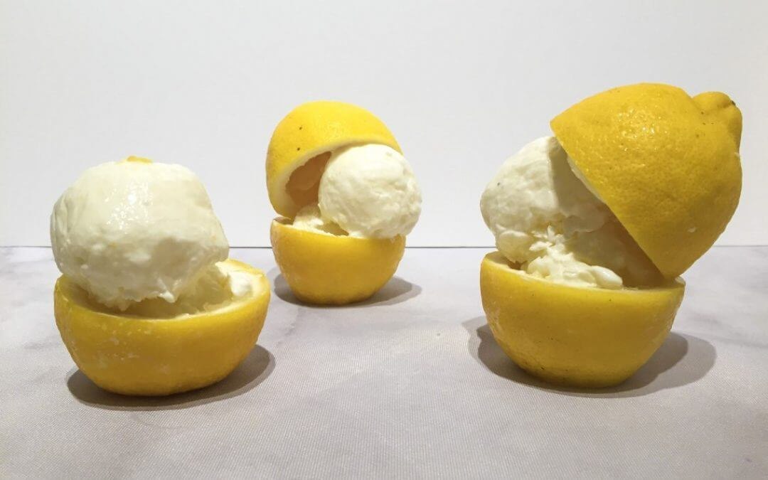 DIY TREND: frozen yoghurt citroen