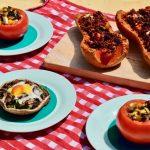 Gevulde groenten uit de Airfryer + WIN