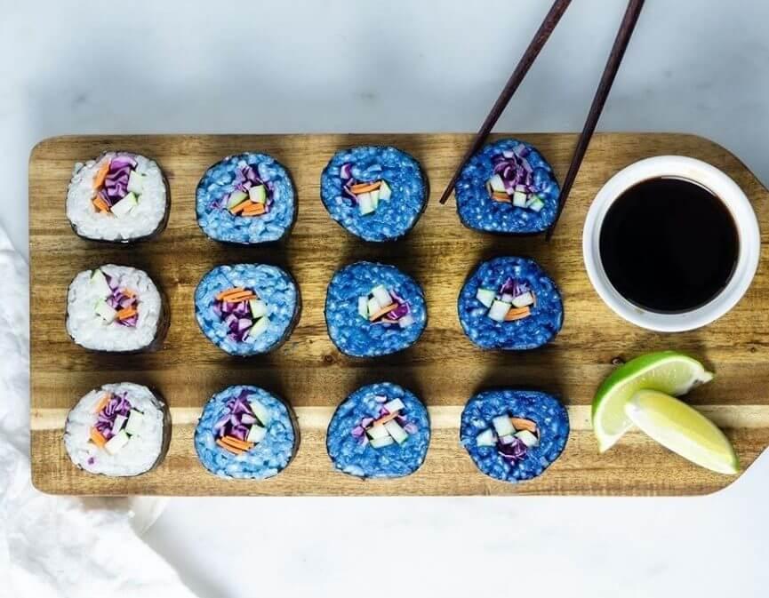 INSTA TREND: blauwe matcha