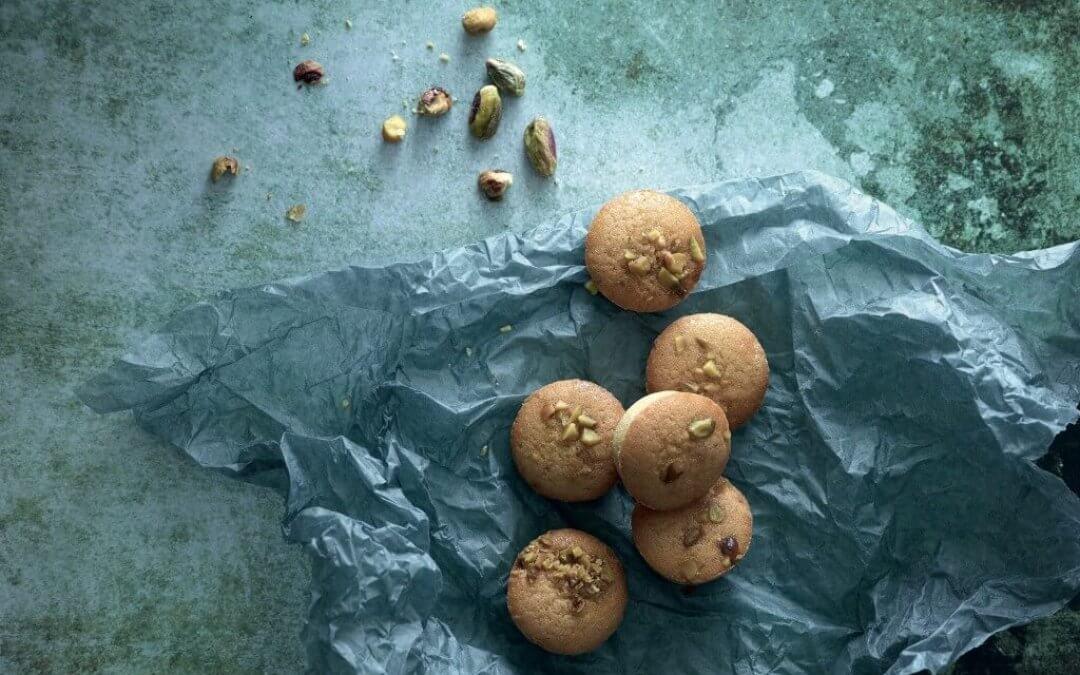 Sinner Saturday: pistachekoekjes met amandelspijs