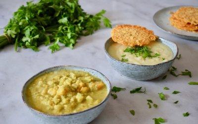 Bloemkool & broccoli soep in een handomdraai