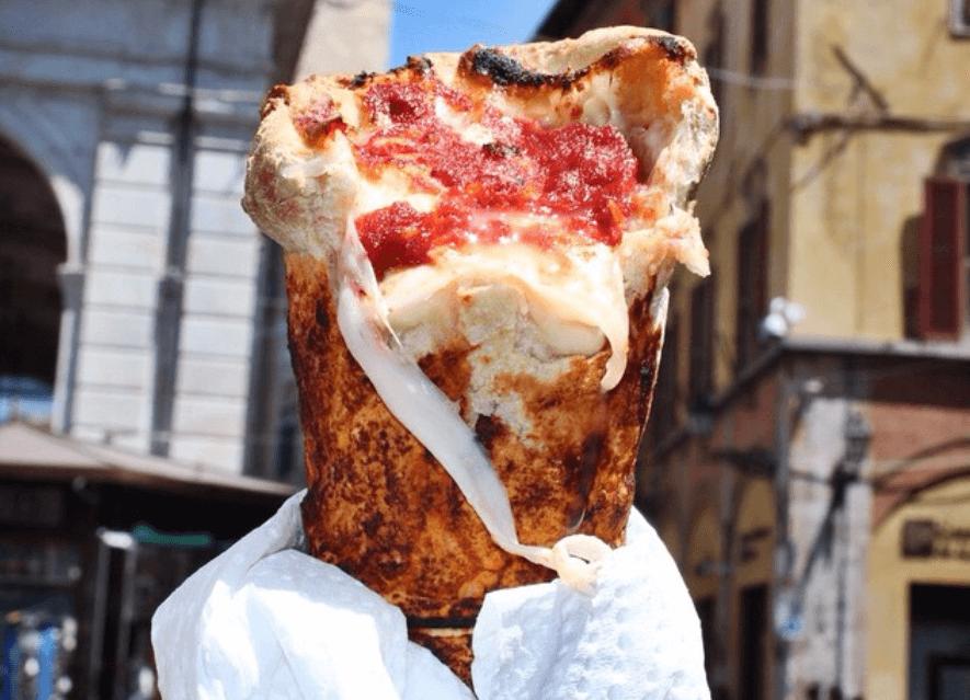 INSTA TREND: pizza cones
