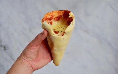 DIY TREND: pizza cones