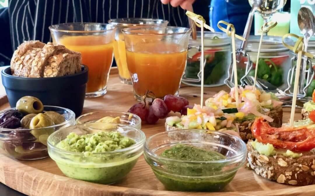 Anne & Max: vegan high tea met biologische wijn
