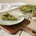 Frittata van OERei met groene asperges en groene kruiden