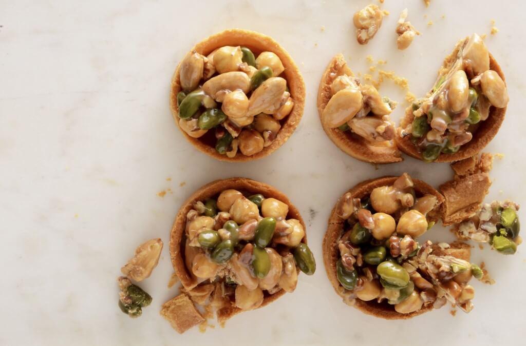 Sinner saturday: taartjes met notenkaramel