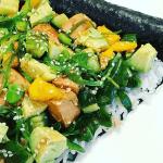 INSTA TREND: sushi pizza