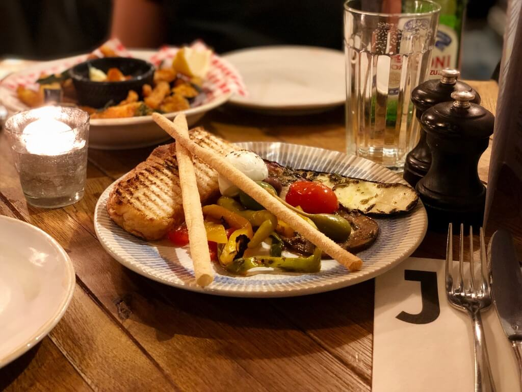 GO VEGAN! bij Jamie's Italian