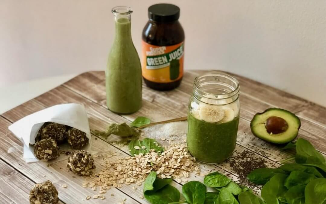 3 x power snacks-to-go met Green Juice + WIN!