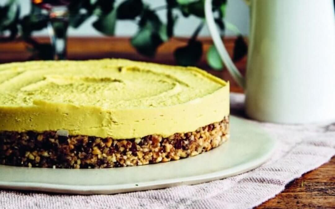 VEGA FEEST van Nina Olsson: mangocheesecake zonder bakken