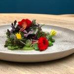 Koken met BØG: Geglaceerde bonen met wei-peterseliesaus en kruidensalade