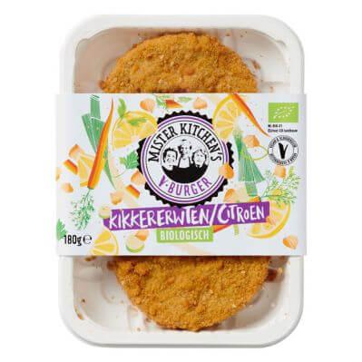 Getest: Mister Kitchen's V-Burger kikkererwten-citroen